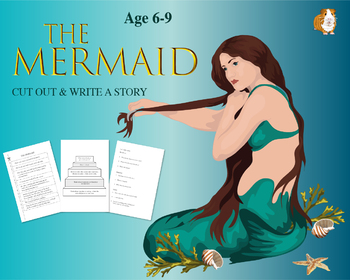 Cut Out And Write The Story Of The Mermaid (6-9 years)