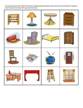 Cut Out Casa/House Bingo