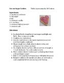 Cut-Out Sugar Cookie Recipe
