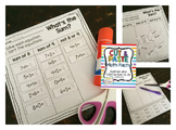 Cut & Paste Math Facts {Addition and Subtraction to 20}