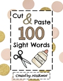 Cut & Paste 100 Sight Words Bundle