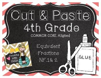 Cut & Paste 4th Grade NF.1&2