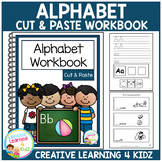 Cut & Paste Alphabet Workbook ABA Autism