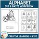 Cut & Paste Alphabet Workbook ABA Autism