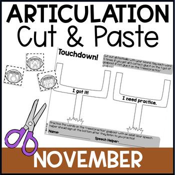Cut & Paste Articulation-November