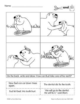 Cut & Paste: Beaver's Toothache