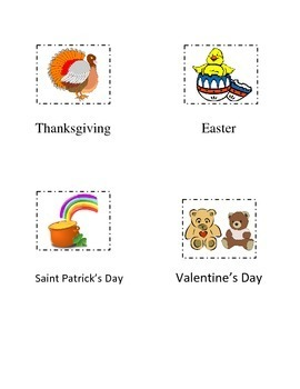FREEBIE Cut Paste Book Markers Saint Patrick Easter Valentine's Thanksgiving Day
