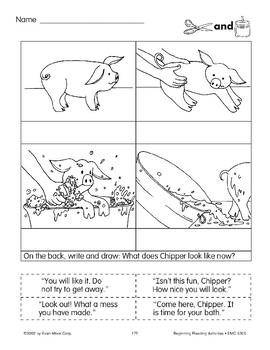 Cut & Paste: Chipper's Bath