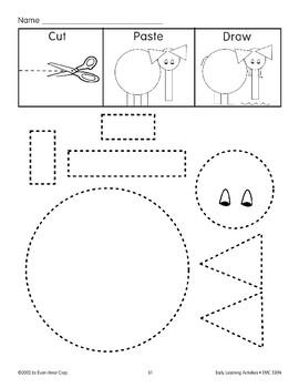 Cut/Paste/Draw: Elephant