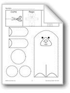 Cut/Paste/Draw: Teddy Bear