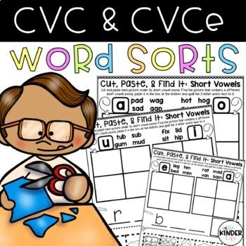 "Cut, Paste, & Find It: Short Vowels and Silent ""e"""