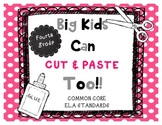 Cut & Paste Fourth Grade Common Core ELA Standards