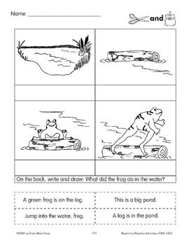 Cut & Paste: Frog & Pond