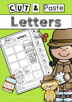 Cut & Paste ~  Letters ~