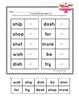 Word Work - Cut, Paste, Learn! -Great for Intervention & S