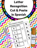 Cut & Paste Letter Recognition in Spanish (Reconocimiento de letras: corta pega)