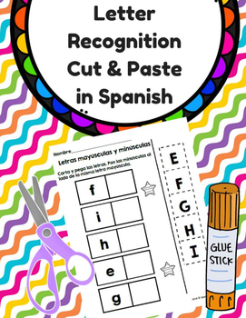 Cut & Paste Letter Recognition in Spanish (Reconocimiento
