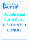 Rounding More Less Double Digits Tables BUNDLE Autism Special Education