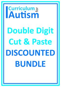 Cut & Paste Math BUNDLE, Autism & Special Education