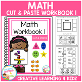 Cut & Paste Math Workbook 1 ABA Autism