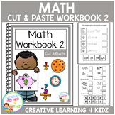 Cut & Paste Math Workbook 2 ABA Autism
