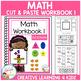 Cut & Paste Math Workbook Bundle Autism