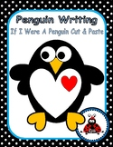 Cut & Paste Penguin With Writing Prompt