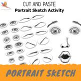 Fun Cut & Paste Portrait Drawing Activity