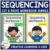 Cut & Paste Sequencing Workbook Bundle Autism