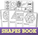 Cut & Paste Shapes Book