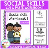 Cut & Paste Social Skills Workbook 1 ABA Autism