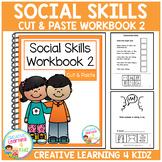 Cut & Paste Social Skills Workbook 2 Autism Special Education