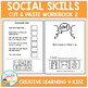 Cut & Paste Social Skills Workbook 2 Autism Special Education