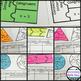 Geometry Puzzles (Growing) Bundle:  Cut, Paste, Solve, Mat