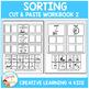Cut & Paste Sorting Workbook 2 ABA Autism