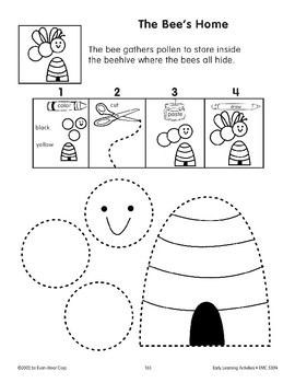 Cut/Paste: The Bee's Home