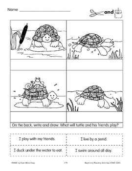 Cut & Paste: Turtle and Friends