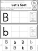 Cut & Paste Uppercase & Lowercase Aphabet Letters A - Z