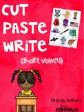Short Vowels Cut Paste Write
