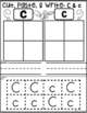 Cut Paste and Write Uppercase and Lowercase Letters Sort