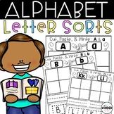 Uppercase Lowercase Letter Sorts