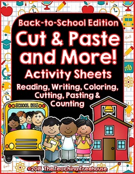 Cut & Paste and More! ~ Back to School Edition