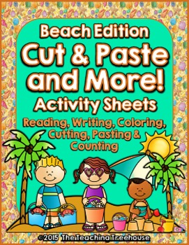 Cut & Paste and More! ~ Beach Edition