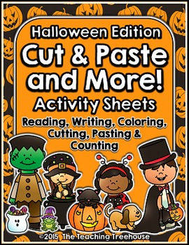Cut & Paste and More! ~ Halloween Edition
