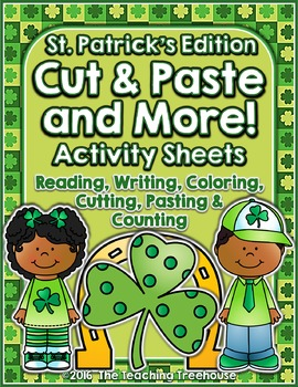 Cut & Paste and More! ~ St. Patrick's Edition