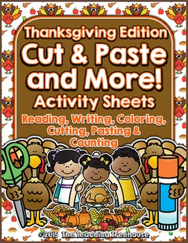 Cut & Paste and More! ~ Thanksgiving Edition