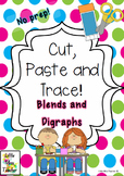 Cut, Paste and Trace! - No Prep - All Consonant Blends and