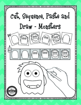 Cut, Sequence, Paste and Draw Monsters