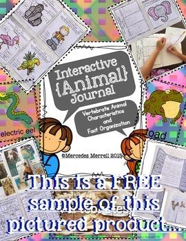 Animal Classification and Animal Characteristics Sorts FREEBIE!