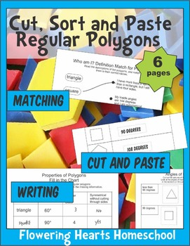 Cut, Sort and Paste Polygons
